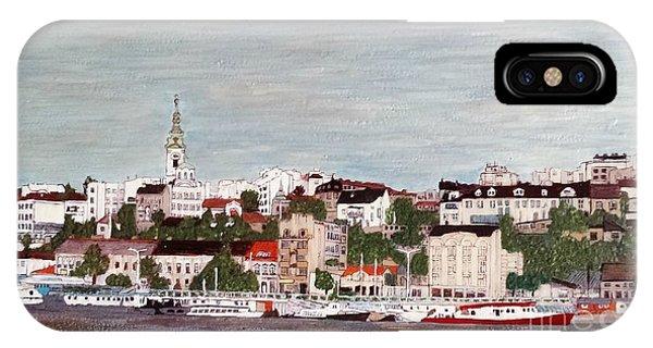 Belgrade Serbia IPhone Case