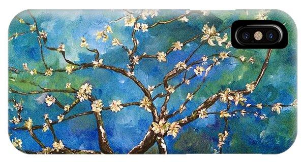 Belinda's Almond Blossoms IPhone Case
