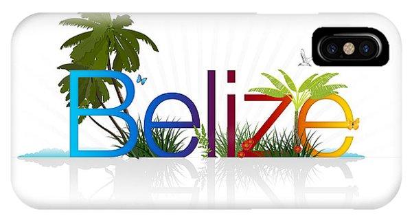 Belize IPhone Case