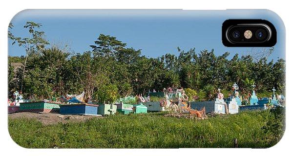 Belize Cemetery IPhone Case
