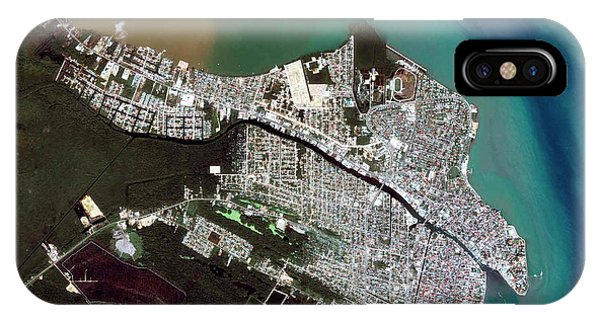 Belize iPhone Case - Belize City by Geoeye/science Photo Library