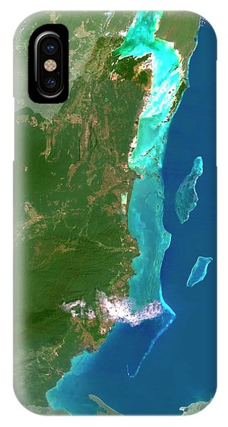 Belize iPhone Case - Belize by Planetobserver/science Photo Library