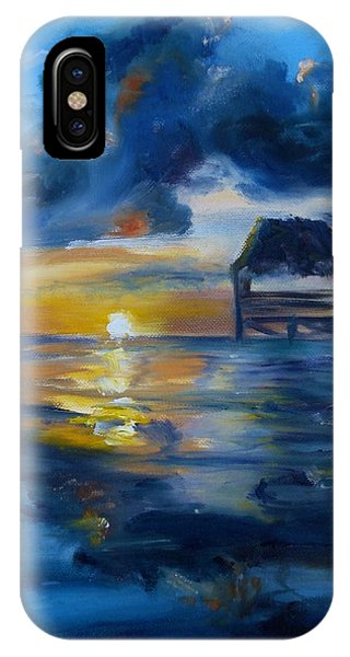 Belizean Sunrise IPhone Case