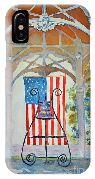 Bell And Flag IPhone Case