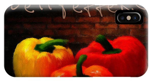 Ingredient iPhone Case - Bell Peppers II by Lourry Legarde