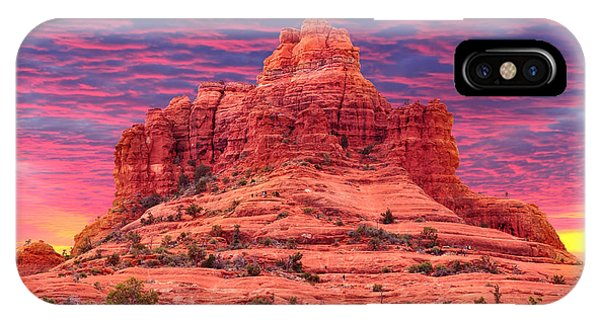 Bell iPhone Case - Bell Rock Sunset by Edwin Verin