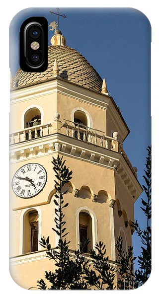 Bell Tower Of Vernazza IPhone Case
