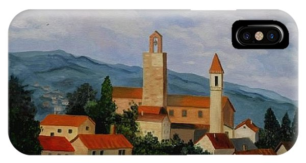 Bell Tower Of Vinci IPhone Case