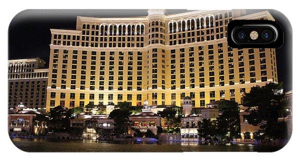 Bellagio Las Vegas Nevada IPhone Case