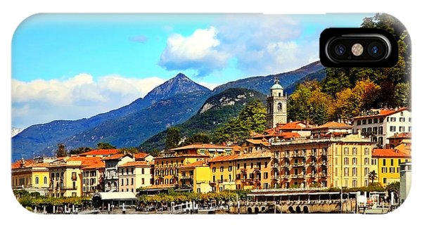 Bellagio On Lake Como IPhone Case