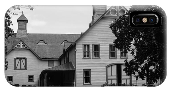 Belle Meade Mansion Carriage House IPhone Case