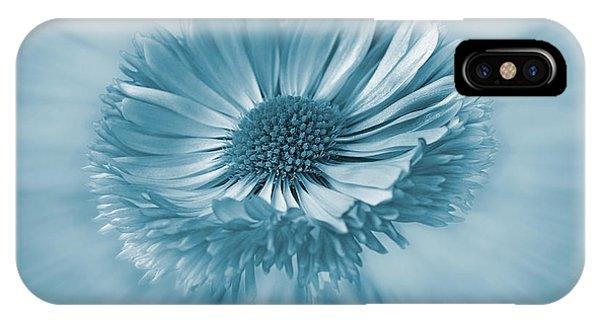 Bellis Cyanotype IPhone Case