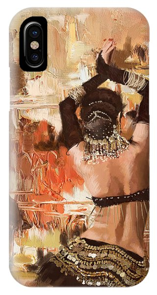 Corporate Art Task Force iPhone Case - Belly Dancer Back by Corporate Art Task Force