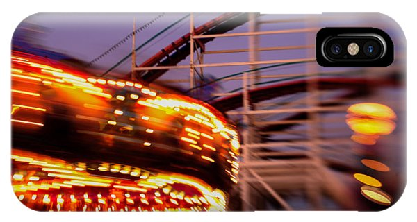 Did I Dream It Belmont Park Rollercoaster IPhone Case
