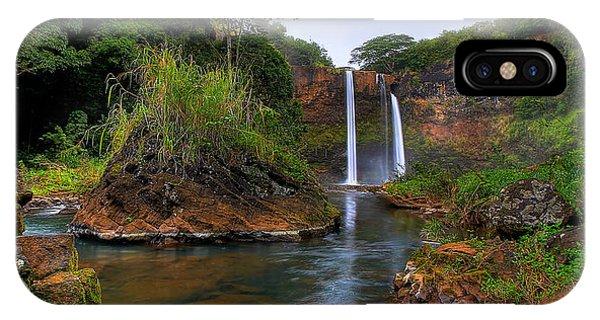 Below Wailua Falls IPhone Case