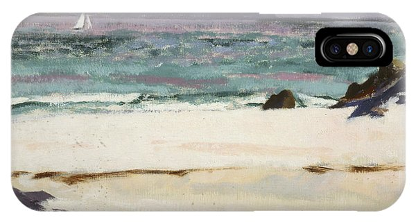 Ben Bhuie From The North End   Iona IPhone Case