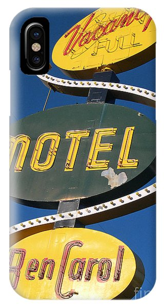 Ben iPhone Case - Ben Carroll Motel by Jim Zahniser
