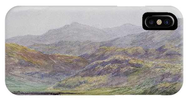 Moor iPhone Case - Ben Cruachan by Sir Arthur Herbert Church