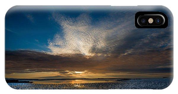 Benbecula Sunset IPhone Case