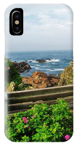 Scenic New England iPhone Case -  Marginal Way by Diane Valliere
