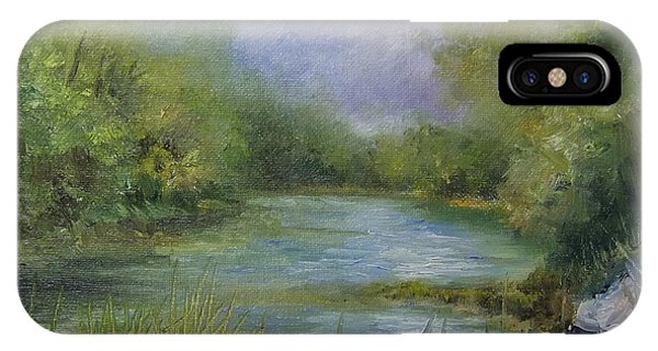 Bend In The River Phone Case by Donna Pierce-Clark