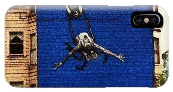 Political Prisoner iPhone Case - #bending #over #backwards By Susan by Anna Grigorieva