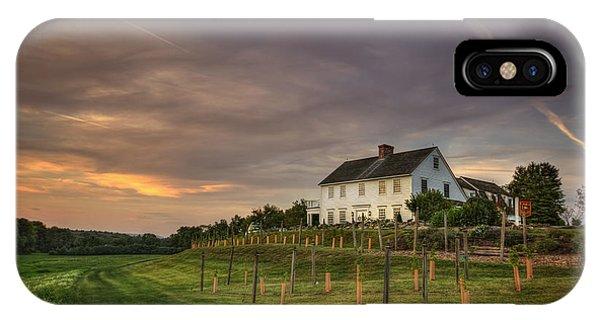Massachusetts iPhone Case - Beneath An Evening Sky by Evelina Kremsdorf