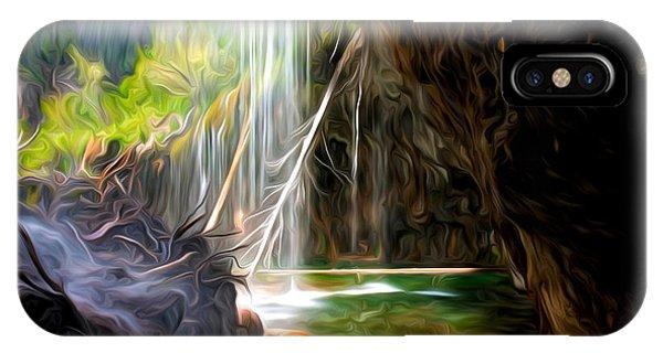 Beneath The Falls At Hanging Lake IPhone Case