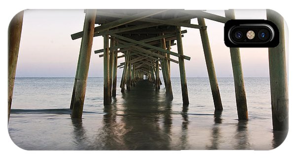Beneath The Pier A Coastal Scenic IPhone Case