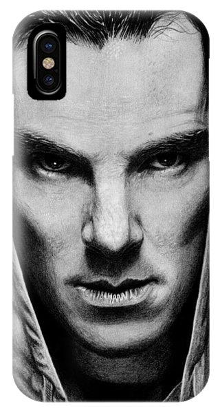 Hyper Realism iPhone Case - Benedict Cumberbatch by Kayleigh Semeniuk