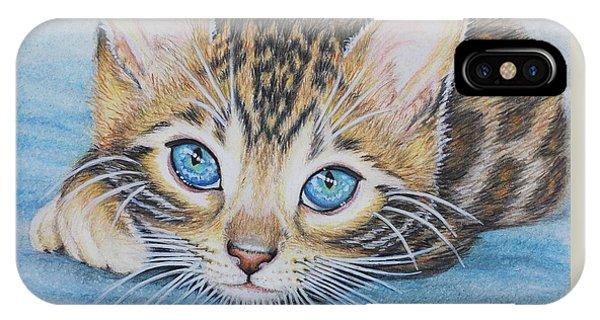 Bengal Kitten IPhone Case