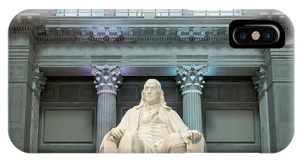 Benjamin Franklin Phone Case by John Greim/science Photo Library