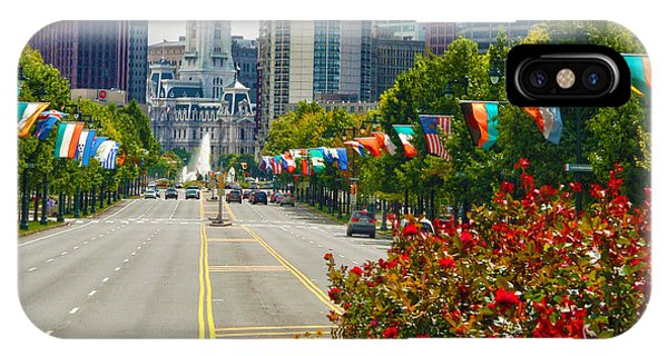 Benjamin Franklin Parkway  IPhone Case