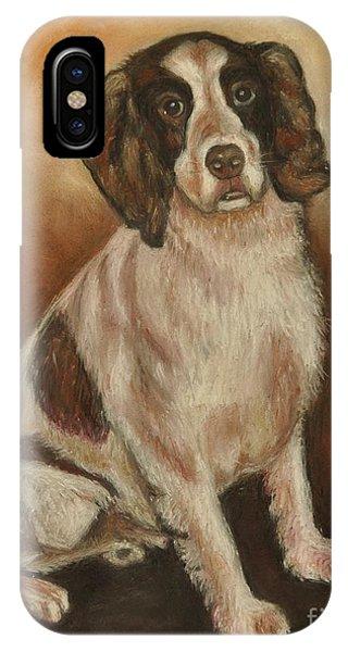 Benson - English Springer Spaniel Phone Case by Heather Kertzer