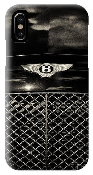 Bentley Continental Gt Sepia IPhone Case