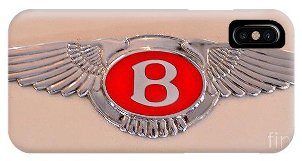 Bentley Emblem IPhone Case