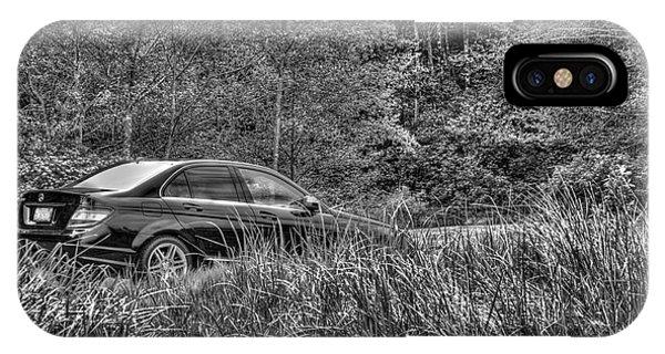 Benz Stalking Its Prey IPhone Case