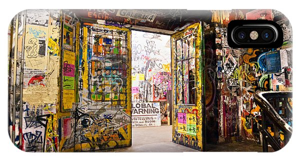 Berlin - The Kunsthaus Tacheles IPhone Case