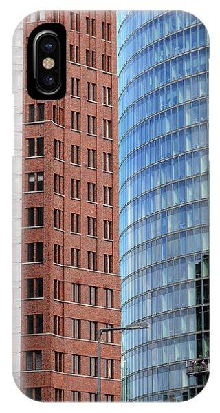 Berlin Buildings Detail IPhone Case