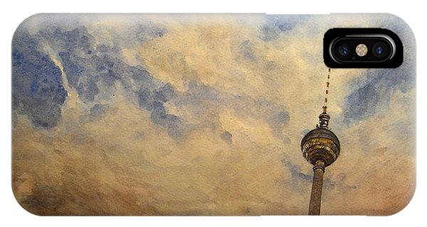 Berlin iPhone Case - Berliner Sky by Juan  Bosco