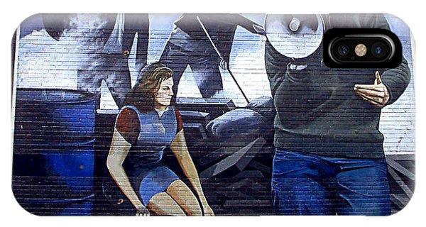 Bernadette Devlin Mural IPhone Case