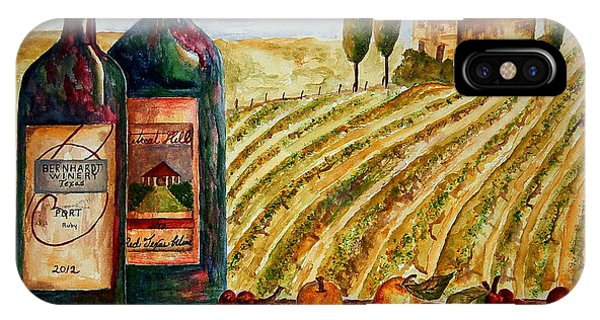 Bernhardt And Retreat Hill Winery IPhone Case