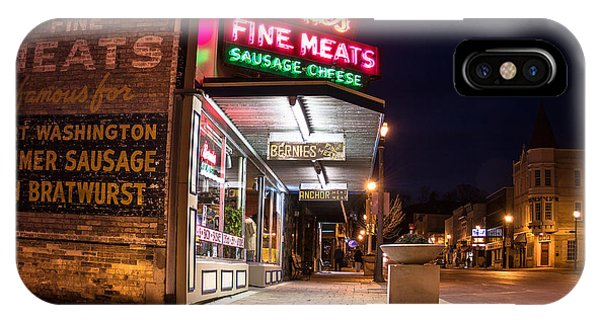 Bernies Fine Meats Signage IPhone Case