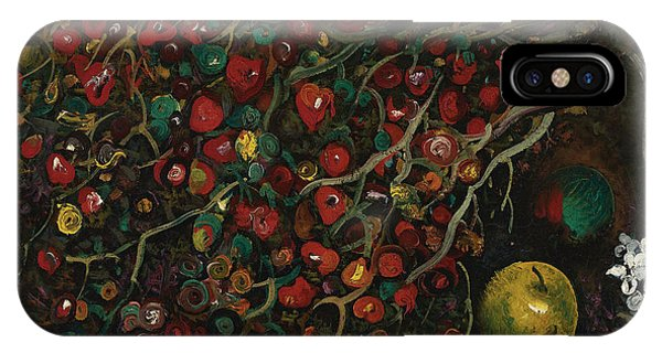 Russian Impressionism iPhone Case - Berries And Apples by Celestial Images