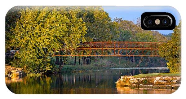 Berry Creek Bridge IPhone Case