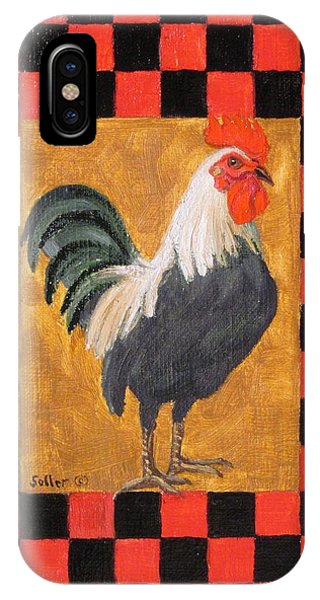 Beryl's Rooster IPhone Case