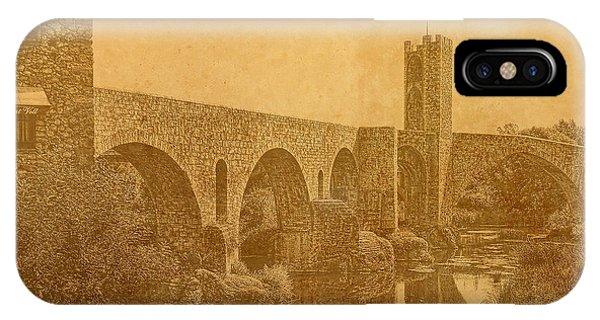 Besalu Bridge IPhone Case