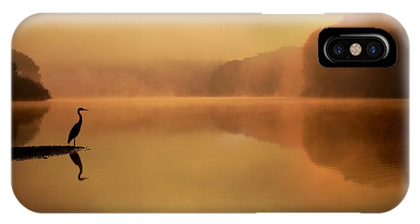 Serenity iPhone Case - Beside Still Waters by Rob Blair