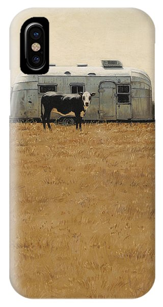 Bessie Wants To Travel IPhone Case