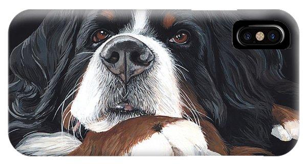 Pup iPhone Case - Best In Black by Liane Weyers